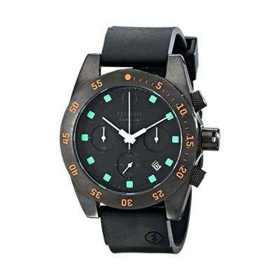 Electric Men's EW0030030020 DW01 PU Band Analog Display Japanese Quartz Black Watch 並行輸入品