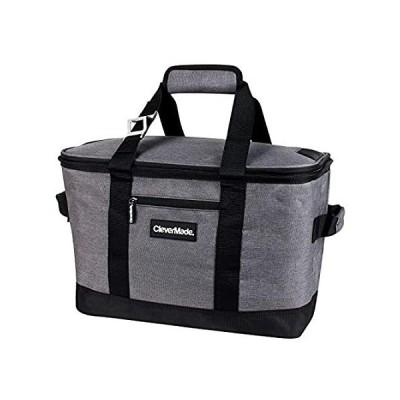 特別価格CleverMade Collapsible Cooler Bag: Insulated Leakproof 50 Can Soft Sided Po好評販売中