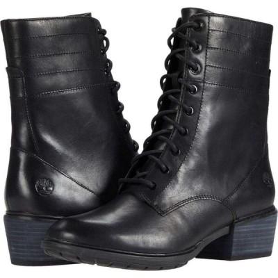 ティンバーランド Timberland レディース ブーツ シューズ・靴 Sutherlin Bay Side Zip Boot Black