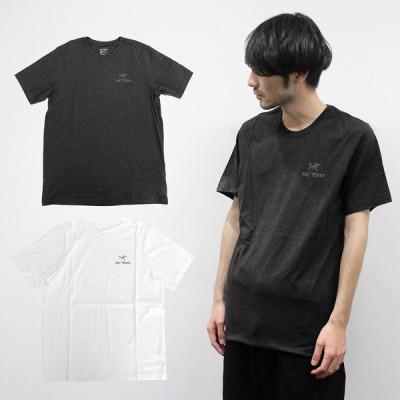 大決算セール開催中!ARCTERYX アークテリクス 24026 EMBLEM T-SHIRT エンブレム Tシャツ トレーニング ブラック ホワイト 24026