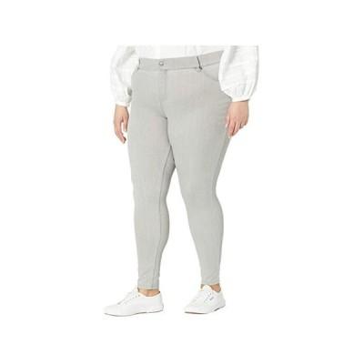 ヒュー Plus Size High-Waist Ultra Soft Denim Leggings レディース ジーンズ Silver/Grey Wash