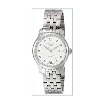 Tissot Le Locle Automatic Diamond Silver Dial Ladies Watch T006.207.11.036.00並行輸入品