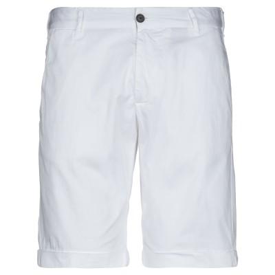 LIVE CONCEPT バミューダパンツ ホワイト 50 コットン 97% / ポリウレタン 3% バミューダパンツ
