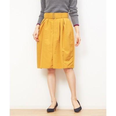スカート ナイロングログランスカート