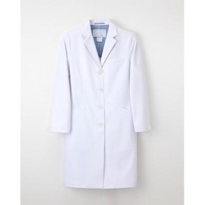ナガイレーベン SD-3040 女子シングルドクターコート(女性用) ナースウェア・白衣・介護ウェア