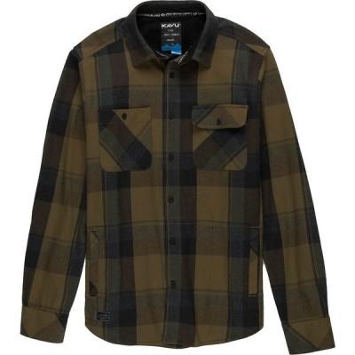 カブー シャツ メンズ トップス Baxter Flannel Shirt - Men's Forager
