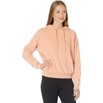 ブランクニューヨーク Blank NYC レディース スウェット・トレーナー パーカー トップス Acid Garment Dye Hooded Sweatshirt Power Hour