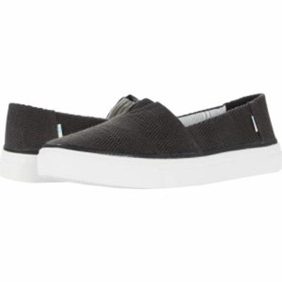 トムス TOMS レディース スニーカー シューズ・靴 Parker Black