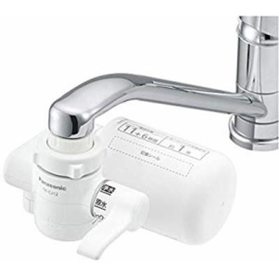 パナソニック 浄水器 蛇口直結型 ホワイト TK-CJ12-W( 未使用の新古品)