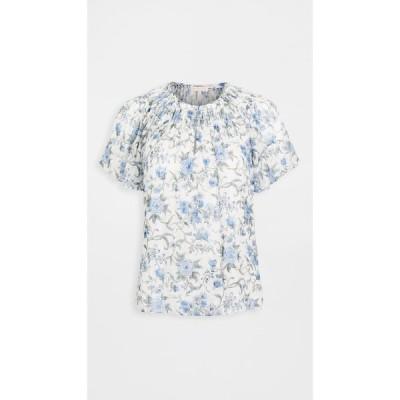 レベッカ テイラー Rebecca Taylor レディース ノースリーブ トップス Sleeveless Esmee Floral Top Oxford Combo
