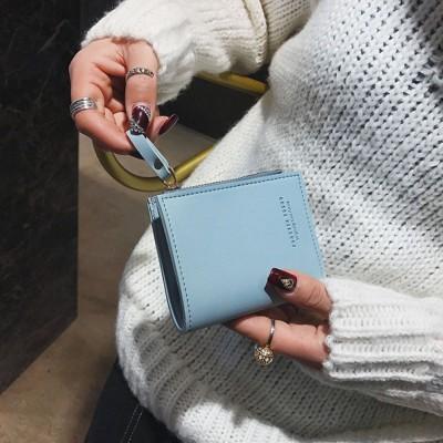HoneyBag四色小さいサイフ、可愛いミニ財布 レディース 二つ折り 可愛いウォレット 財布 カードケース 小銭入れ カード収納 小さめ財布 コンパクト財布CY3004