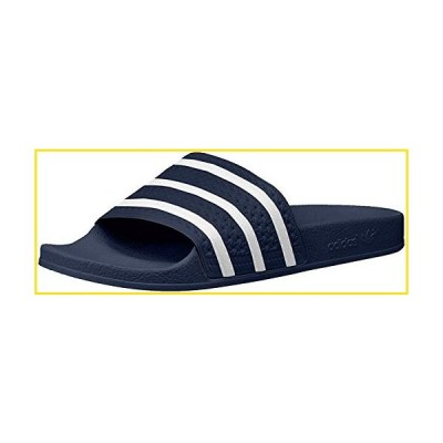 新品adidas Originals Men's Adilette Shower Slides Sandals, Adidas Blue/White/Adidas Blue, 10並行輸入品