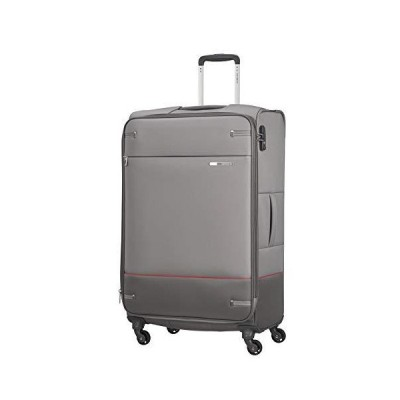 Samsonite unisex_adult Spinner L expandable (78 cm-112.5 L), Grey, (78 Centimeters-112.5 L)【海外平行輸入品】