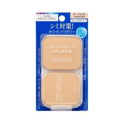 資生堂 アクアレーベル ホワイトパウダリー レフィル オークル10 やや明るめの肌色 SPF25・PA++ (ファンデーション)