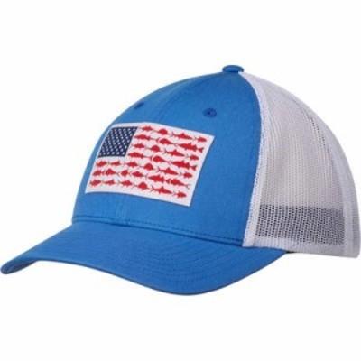 コロンビア キャップ PFG Mesh Snap Back Cap Vivid Blue/Fish Flag