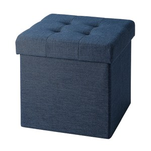 折疊收納凳 單人 星空藍