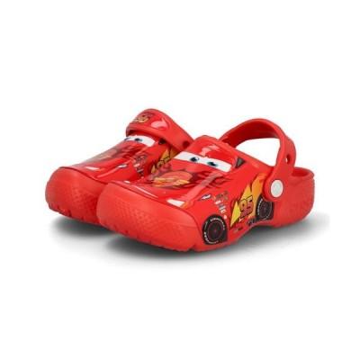 crocs クロックス FUN LAB CARS CLOG K キッズサンダル(ファンラボカーズクロッグK) 204116 8C1 フレイム