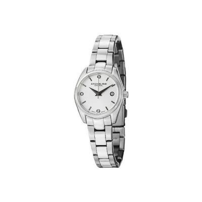 海外セレクション 腕時計 Stuhrling 414L 01 レディース クラシック Ascot Prime ステンレス スチール ブレスレット 腕時計