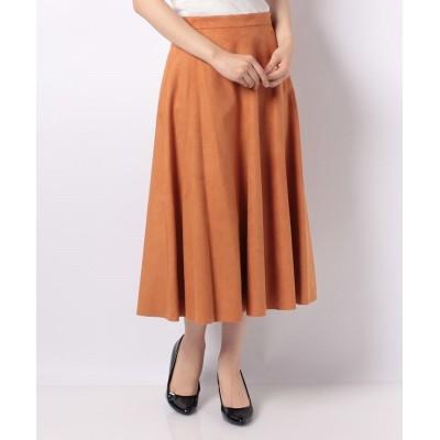 【ピッコラドンナ】 アマレッタスカート レディース オレンジ 2号(9号) Piccola Donna