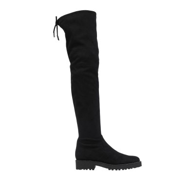 EVALUNA ブーツ ブラック 38.5 紡績繊維 ブーツ