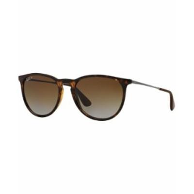 レイバン レディース サングラス・アイウェア アクセサリー Polarized Sunglasses RB4171 ERIKA BROWN/BROWN GRADIENT POLAR
