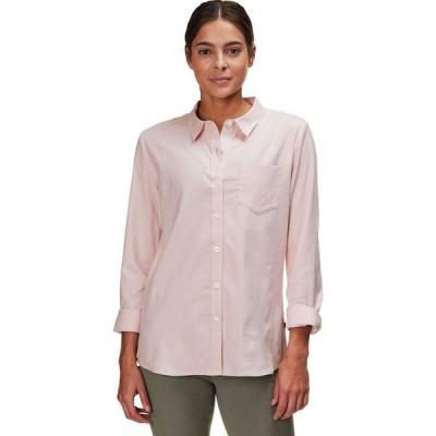 バックカントリー Backcountry レディース ブラウス・シャツ トップス Stripe Woven Long-Sleeve Shirt Pink Sunset Stripe