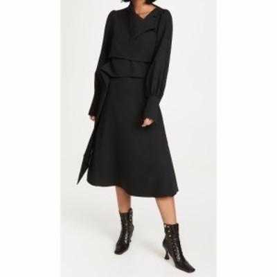ブーフィレ Beaufille レディース ワンピース ラップドレス ワンピース・ドレス Trio Wrap Dress Black