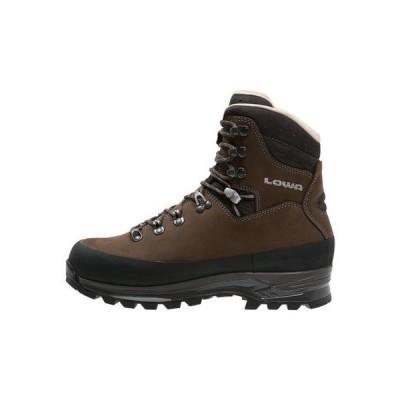 ローバー メンズ スポーツ用品 TIBET LL - Mountain shoes - dunkelbraun/schiefer