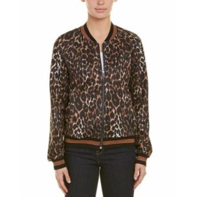 Pam & Gela パム & ゲラ ファッション 衣類 Pam & Gela Leopard Track Jacket M Brown