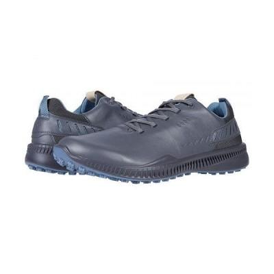 ECCO Golf エコー ゴルフ メンズ 男性用 シューズ 靴 スニーカー 運動靴 S-Hybrid Hydromax - Magnet Yak Leather
