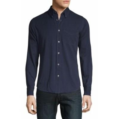 トムフォード Men Clothing Casual Denim Button-Down Shirt