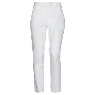 ピューテリー PEUTEREY パンツ ホワイト 46 コットン 97% / ポリウレタン 3% パンツ