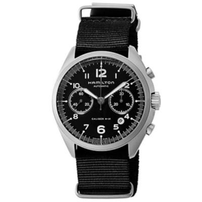 ハミルトン 腕時計 メンズ カーキパイロット ブラック H76456435