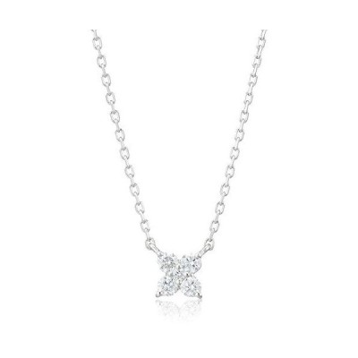 ヴァンドーム青山 プラチナ APVN153340DI ダイヤモンド カローラ ネックレス