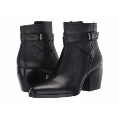 Naturalizer ナチュラライザー レディース 女性用 シューズ 靴 ブーツ アンクル ショートブーツ Fenya Black Leather【送料無料】