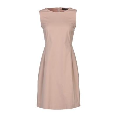 ANTONELLI ミニワンピース&ドレス ローズピンク 40 コットン 80% / ナイロン 16% / ポリウレタン 4% ミニワンピース&ドレス
