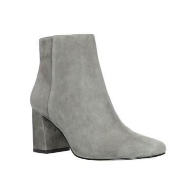 ベラヴィータ ブーツ&レインブーツ シューズ レディース Square Toe Ankle Boots Grey Suede Leather