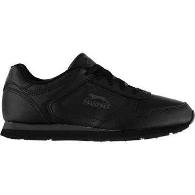 スラセンジャー Slazenger メンズ スニーカー シューズ・靴 Classic Trainers Black/Charcoal