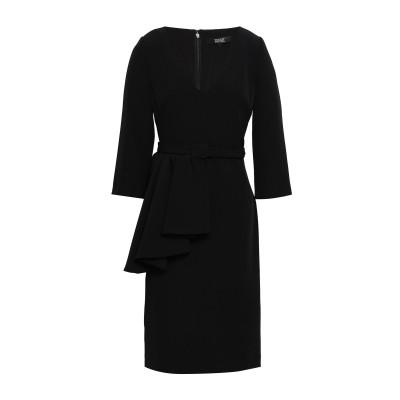 BADGLEY MISCHKA ミニワンピース&ドレス ブラック 2 ポリエステル 95% / ポリウレタン 5% ミニワンピース&ドレス