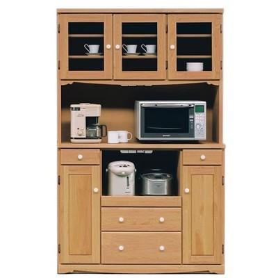 食器棚 オープンダイニングボード カントリー調 120cm幅 「マーガレット」 開梱設置サービス