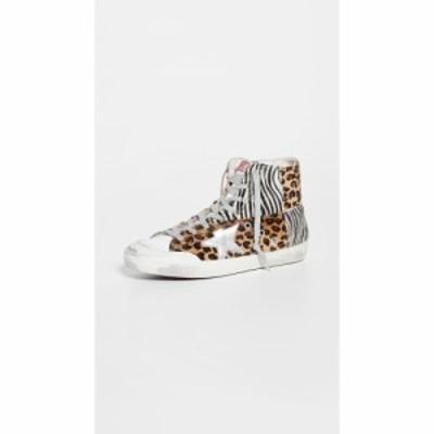 ゴールデン グース Golden Goose レディース スニーカー シューズ・靴 Francy Sneakers Beige Brown Leo/Black
