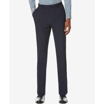 ペリーエリス メンズ カジュアルパンツ ボトムス Men's Washable Slim-Fit Pants