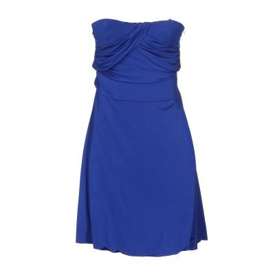 リュー ジョー LIU •JO ミニワンピース&ドレス ブルー 46 95% レーヨン 5% ポリウレタン ミニワンピース&ドレス