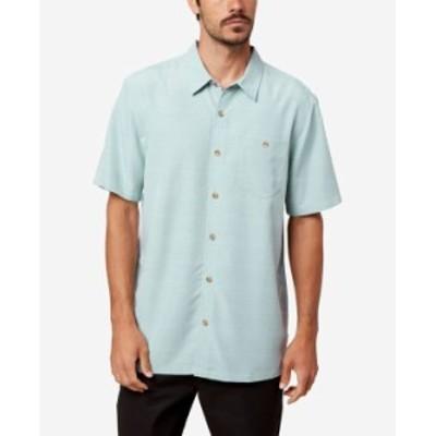 オニール メンズ シャツ トップス Men's Rhodes Button-Up Shirt Ice