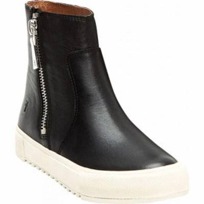 フライ Frye レディース ブーツ シューズ・靴 Gia Lug Zip Bootie Black Leather