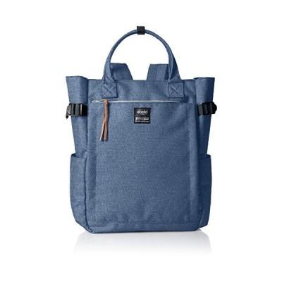 Anello backpack canvas 10 pocket 2WAY backpack AT-C1225 (Denim Blue) 並行輸入品
