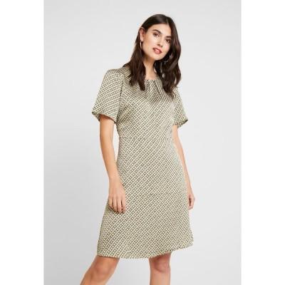 カフェ ワンピース レディース トップス KAFOLDY ALVI DRESS - Day dress - moss