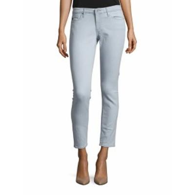 AG アドリアーノ ゴールドシュミード レディース パンツ デニム Cotton-Blend Ankle-Length Jeans
