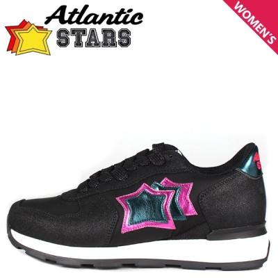Atlantic STARS アトランティックスターズ ベガ スニーカー レディース VEGA ブラック 黒 BNMB-BT42