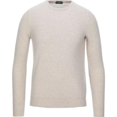 ザノーネ ZANONE メンズ ニット・セーター トップス Sweater Beige